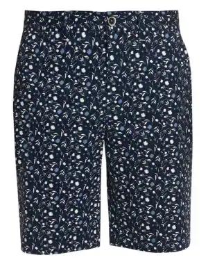 bac64299ce1b7 Robert Graham Gunnar Floral Stretch-Cotton Shorts In Navy | ModeSens
