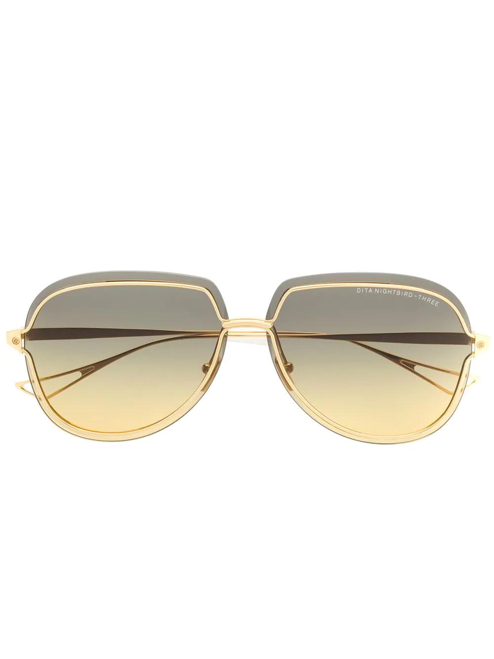 db5605b054 Cartier Aviator Sunglasses - Metallic