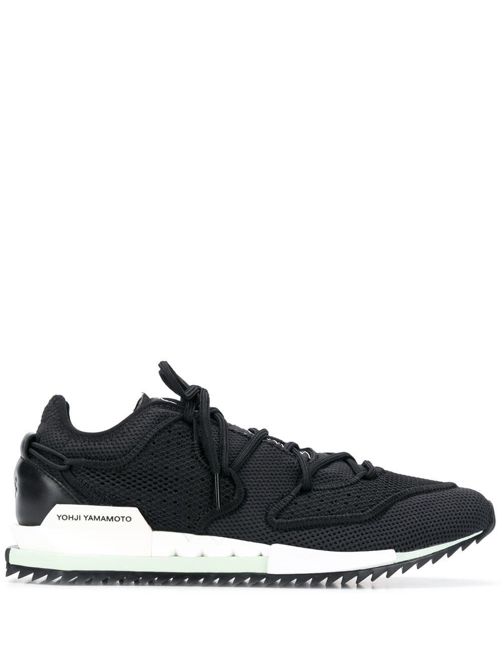 9a710fafee19c Y-3 Black Harigane Ii Sneakers