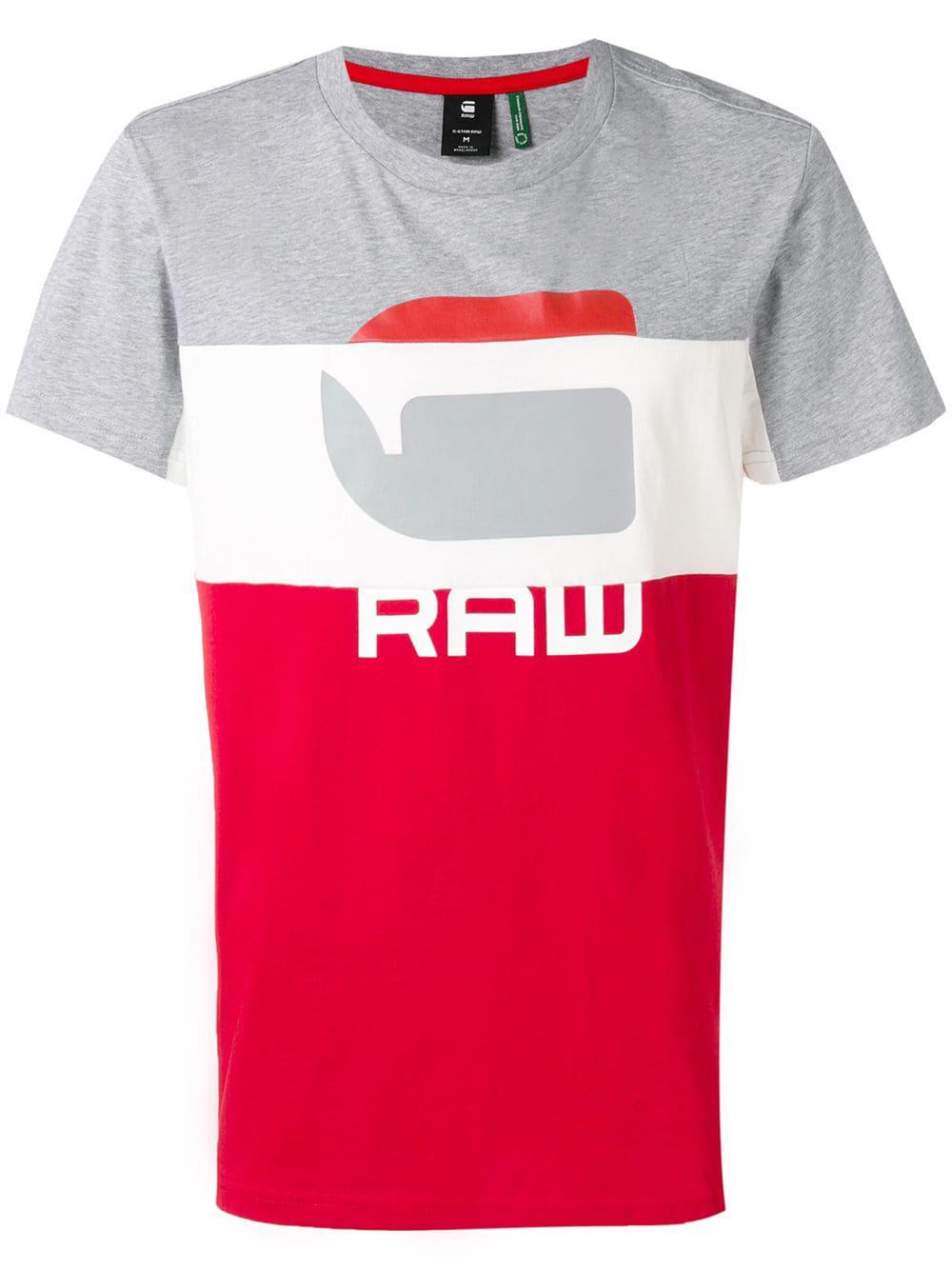 05e04e4a72e G-Star Raw Research Logo Print T-Shirt - Red