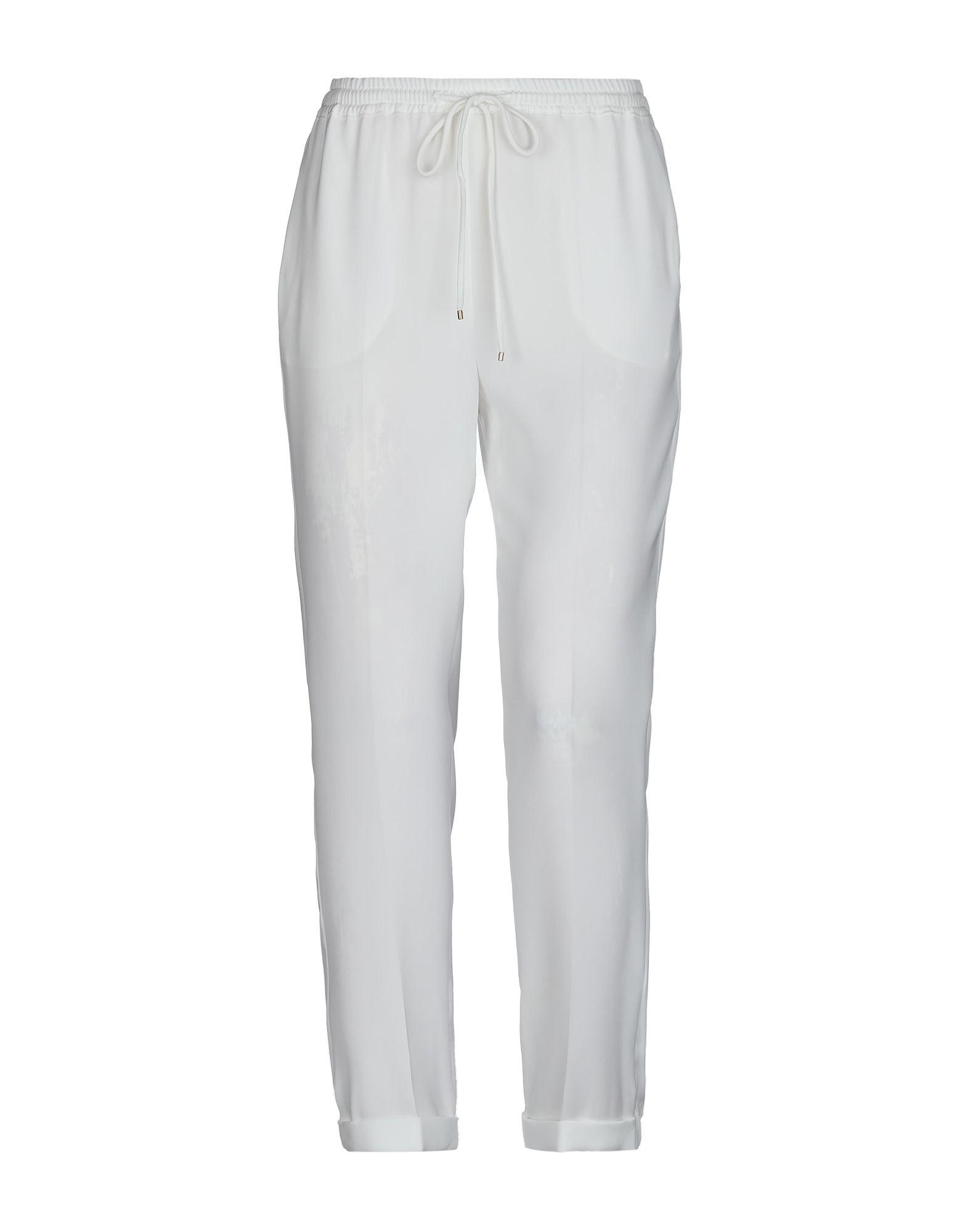 96ed8ebddd65c Max Mara Casual Pants In White