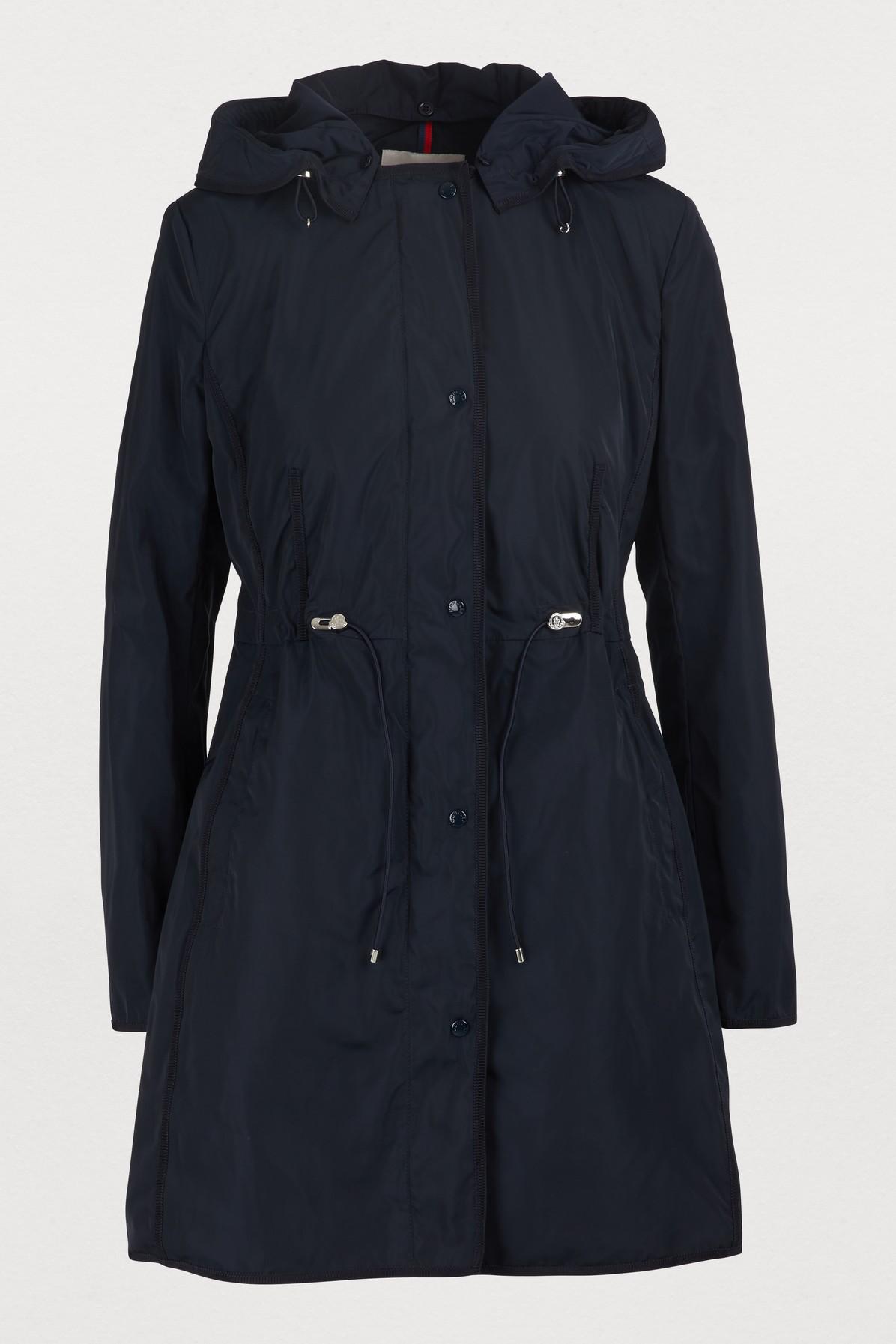 9ea765652 Moncler Anthemis Lightweight Raincoat In Blue   ModeSens