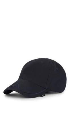9fa675e10a961 Balenciaga Bb Cotton Twill Baseball Cap In Black