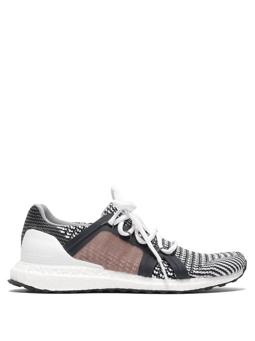 33fe82c187a1a Adidas By Stella Mccartney - Ultraboost S Low Top Mesh Trainers - Womens -  Navy Stripe