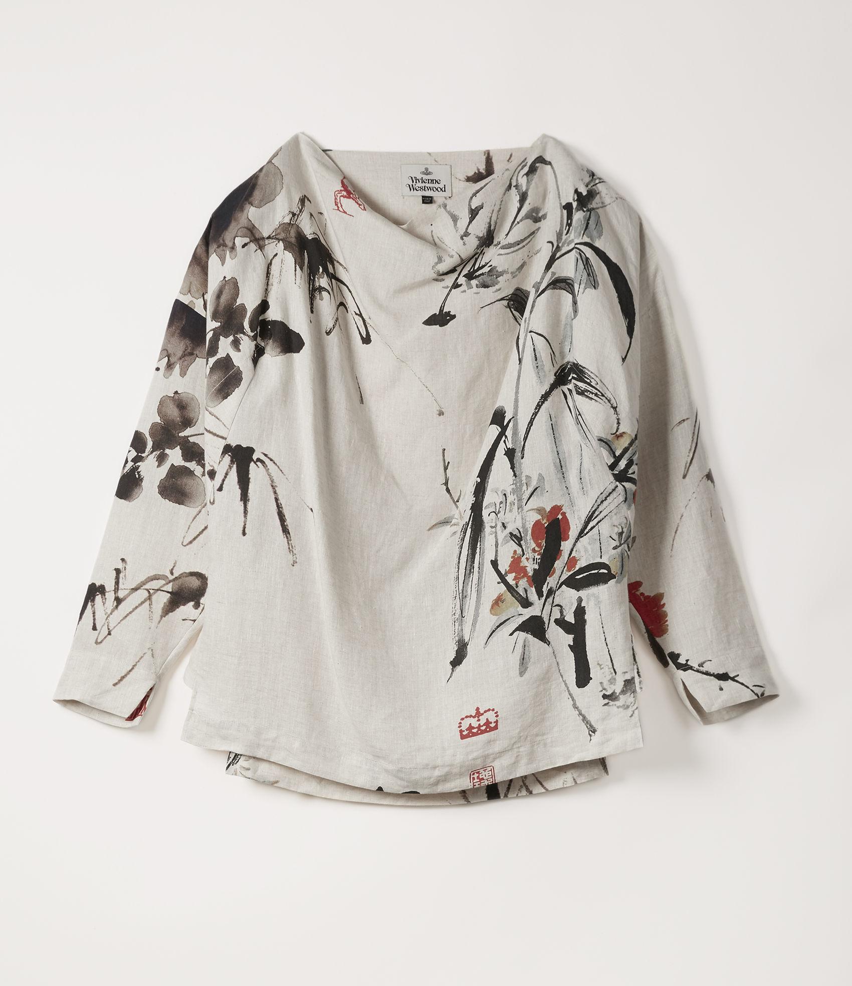 cfea1697f Vivienne Westwood Wilma Top Chinese Peony Print | ModeSens