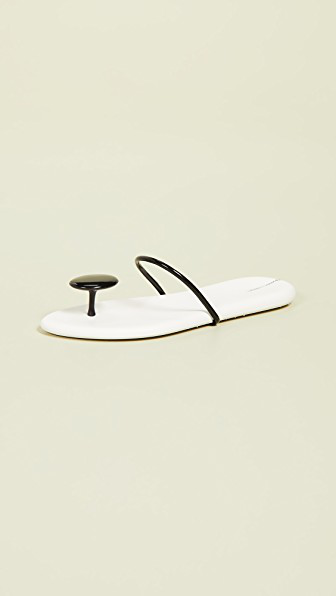 9aca85f638cb Ipanema Philippe Starck Thing U Ii Sandals In White Black