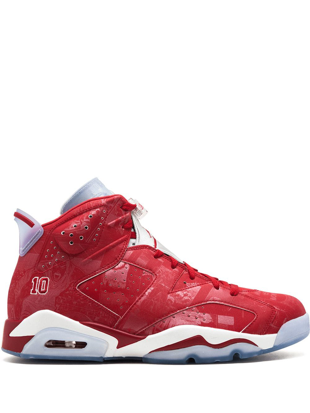 more photos f5992 3e01f Jordan Air 6 Retro X Slam Dunk Sneakers - Red