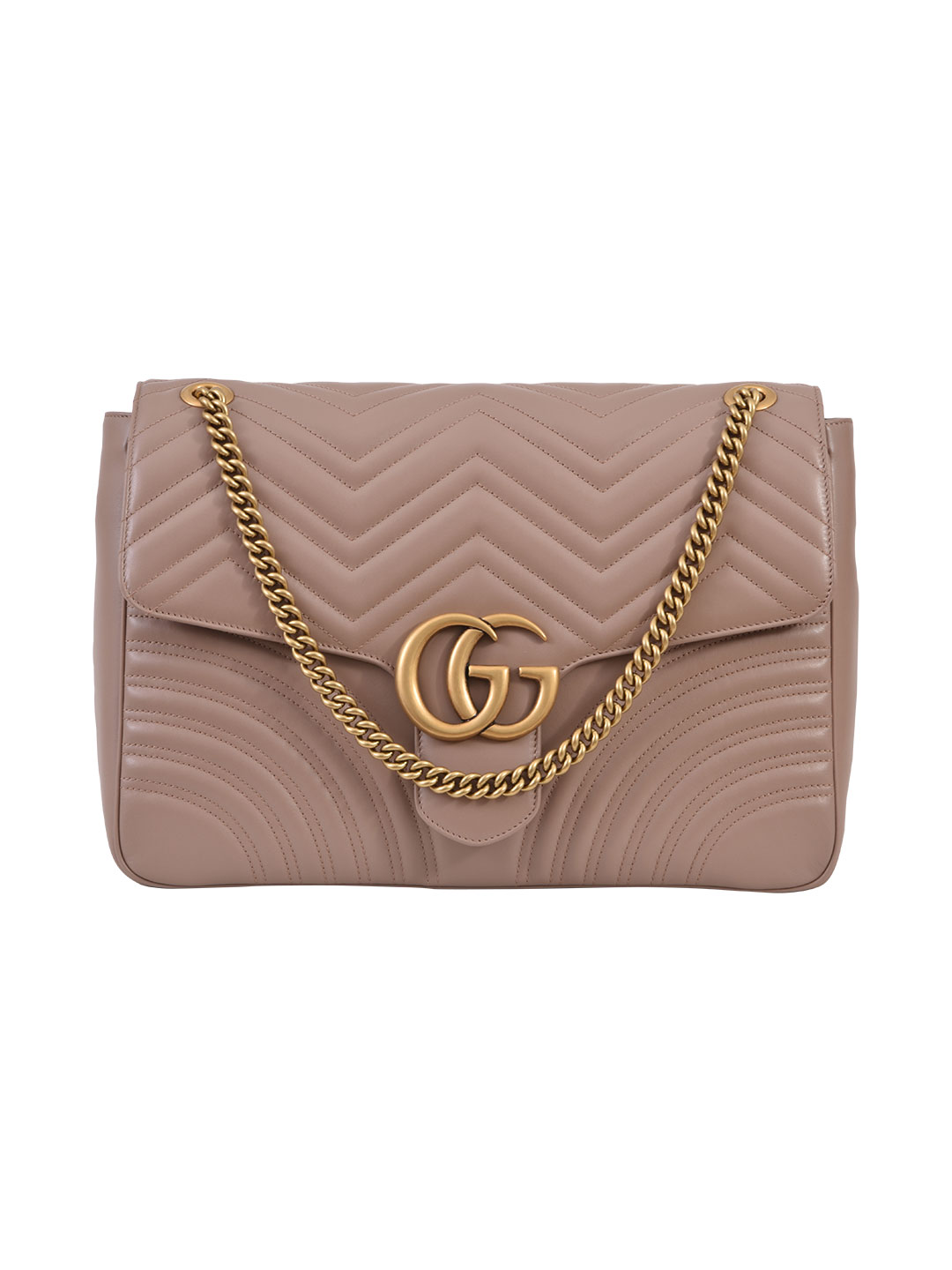 e5ee1f5796584f Gucci Gg Marmont Large Quilted Leather Shoulder Bag In Beige | ModeSens