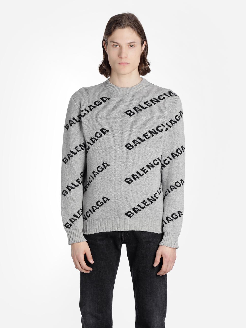 a54f88c56b8 Balenciaga Knitwear in Grey