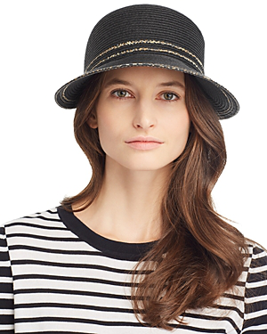 b4df1ec0 August Hat Company Leopard-Trim Framer Cap In Black | ModeSens