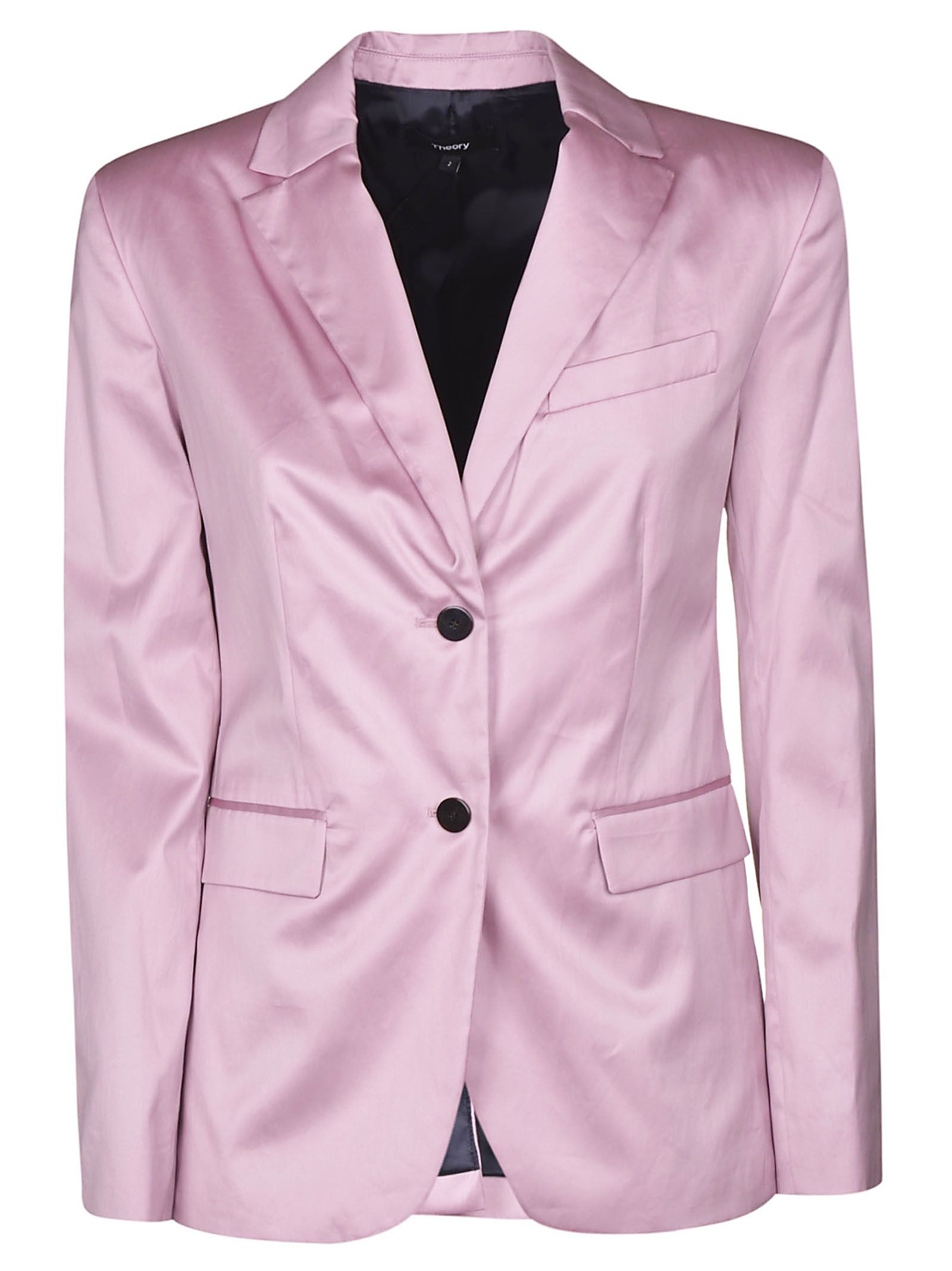 2082a5b4c5 Theory Fitted Blazer In Pink | ModeSens
