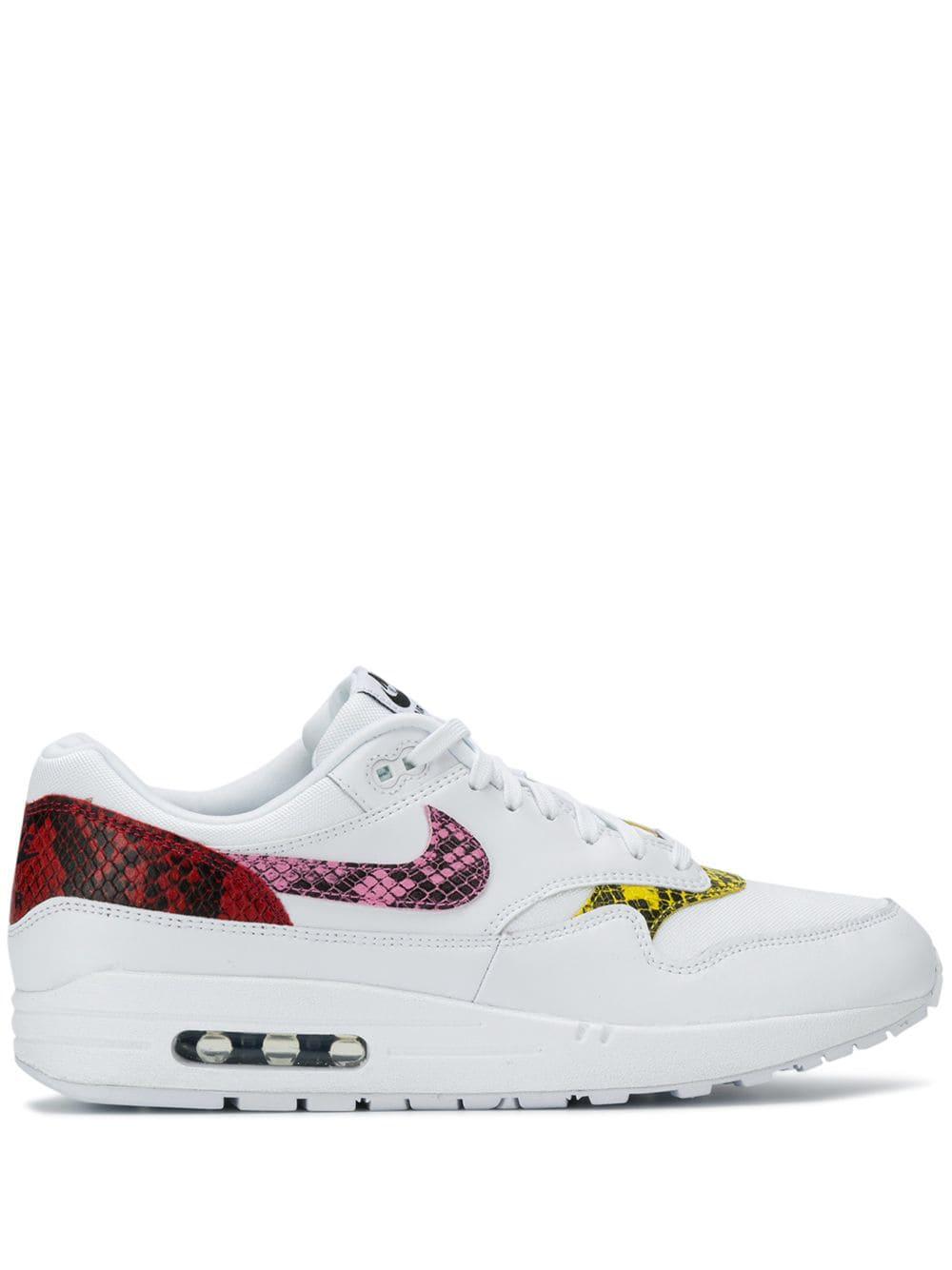 Nike Air Max 1 Premium Animal Sneakers - White