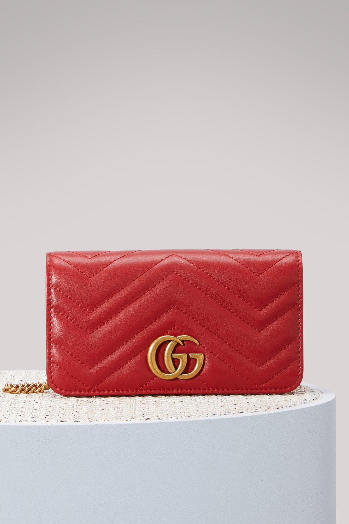 2367e184cea Gucci Gg Marmont Wallet On Chain