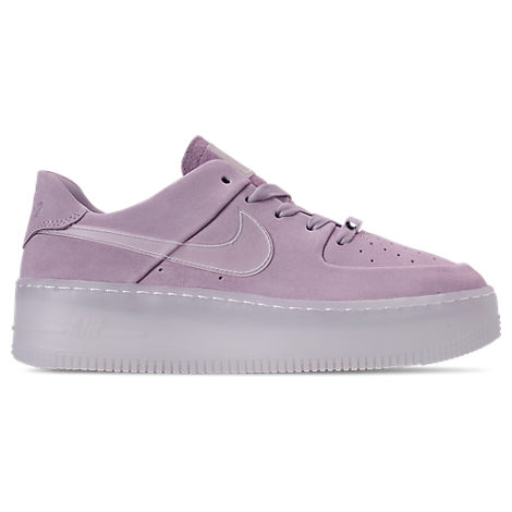 Nike Women S Air Force 1 Sage Low Lx Casual Shoes Pink Size 9 5
