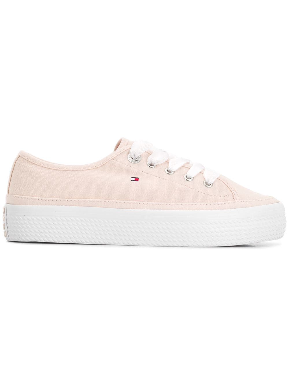 a3b91380 Tommy Hilfiger Platform Trainers - Pink | ModeSens