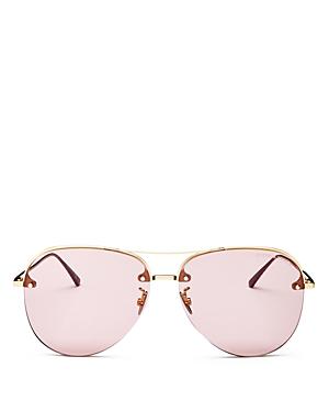94176df6d4124 Bottega Veneta Women s Aviator Sunglasses