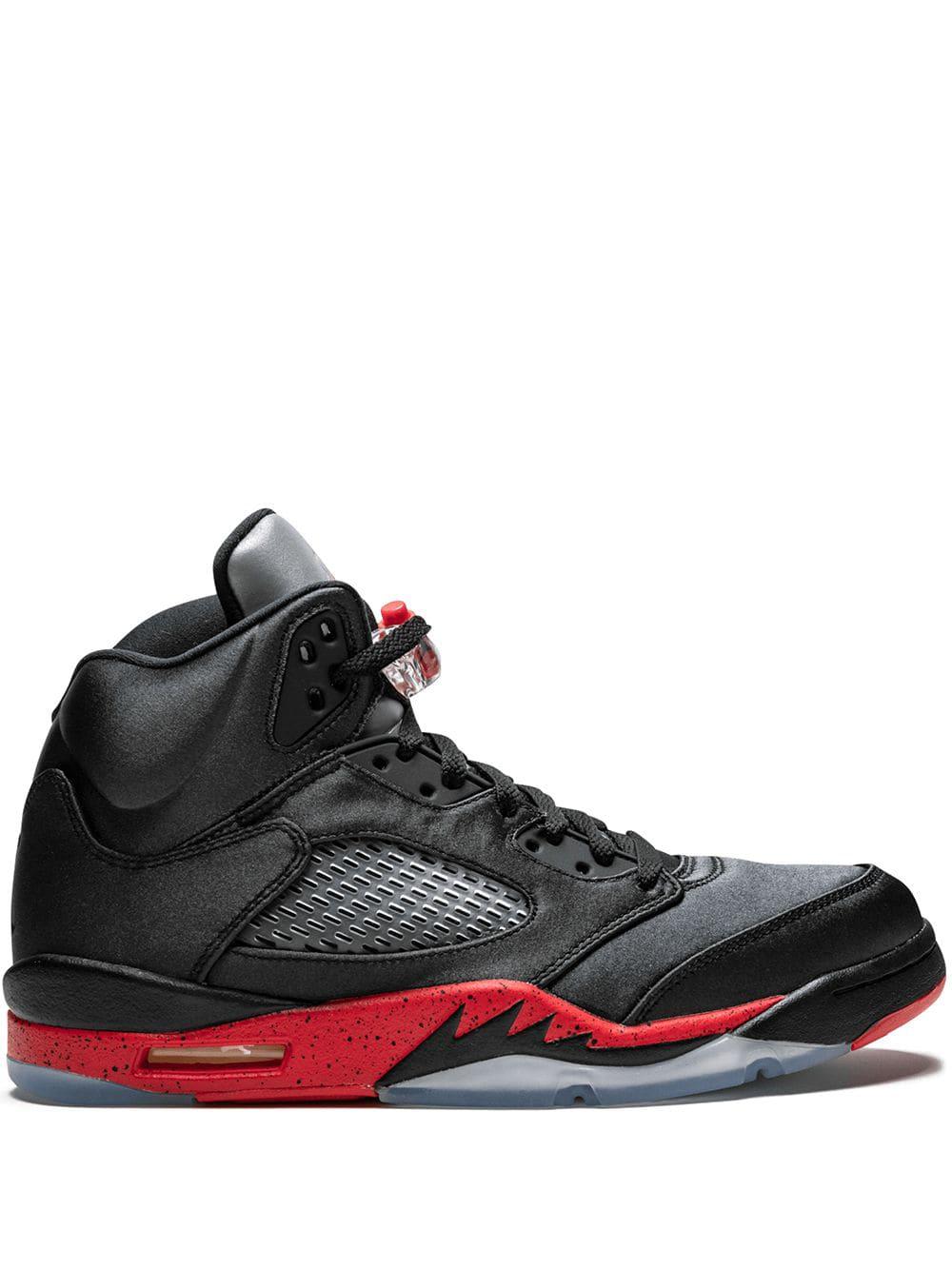 6a337ae8b6b76f Jordan Air 5 Retro Sneakers - Black