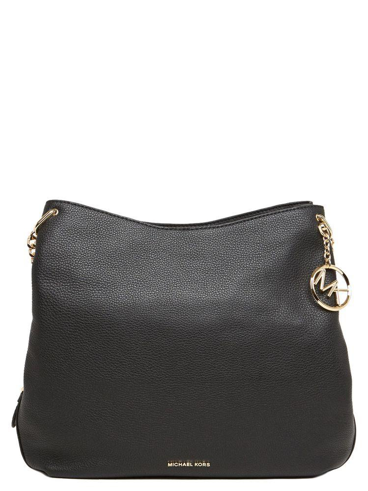 fb4c23509b12bc Michael Michael Kors Lillie Large Shoulder Bag In Black   ModeSens