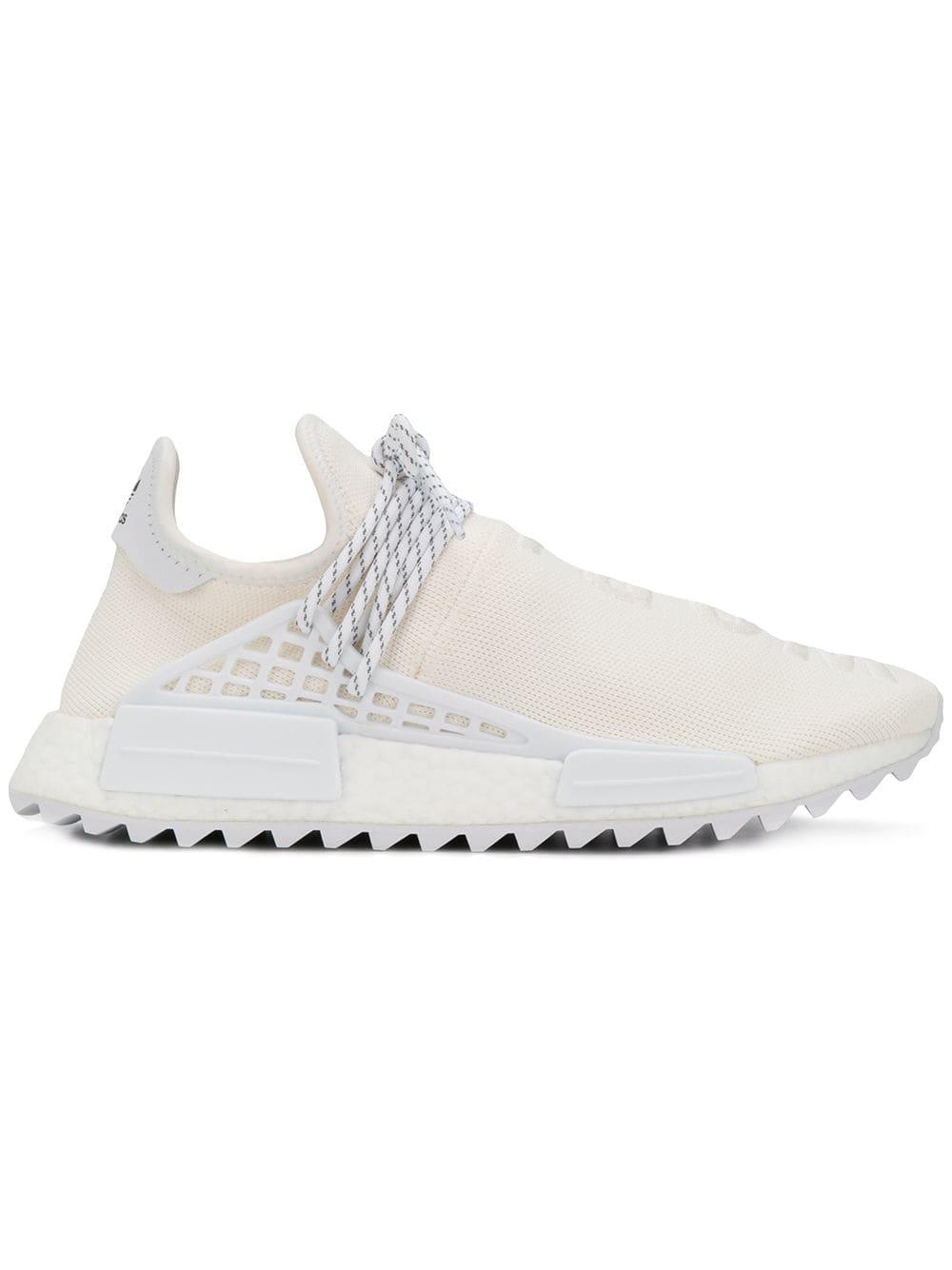 fe49119d6 Adidas Originals X Pharrell Williams Adidas Hu Holi Nmd Mc Sneakers - White