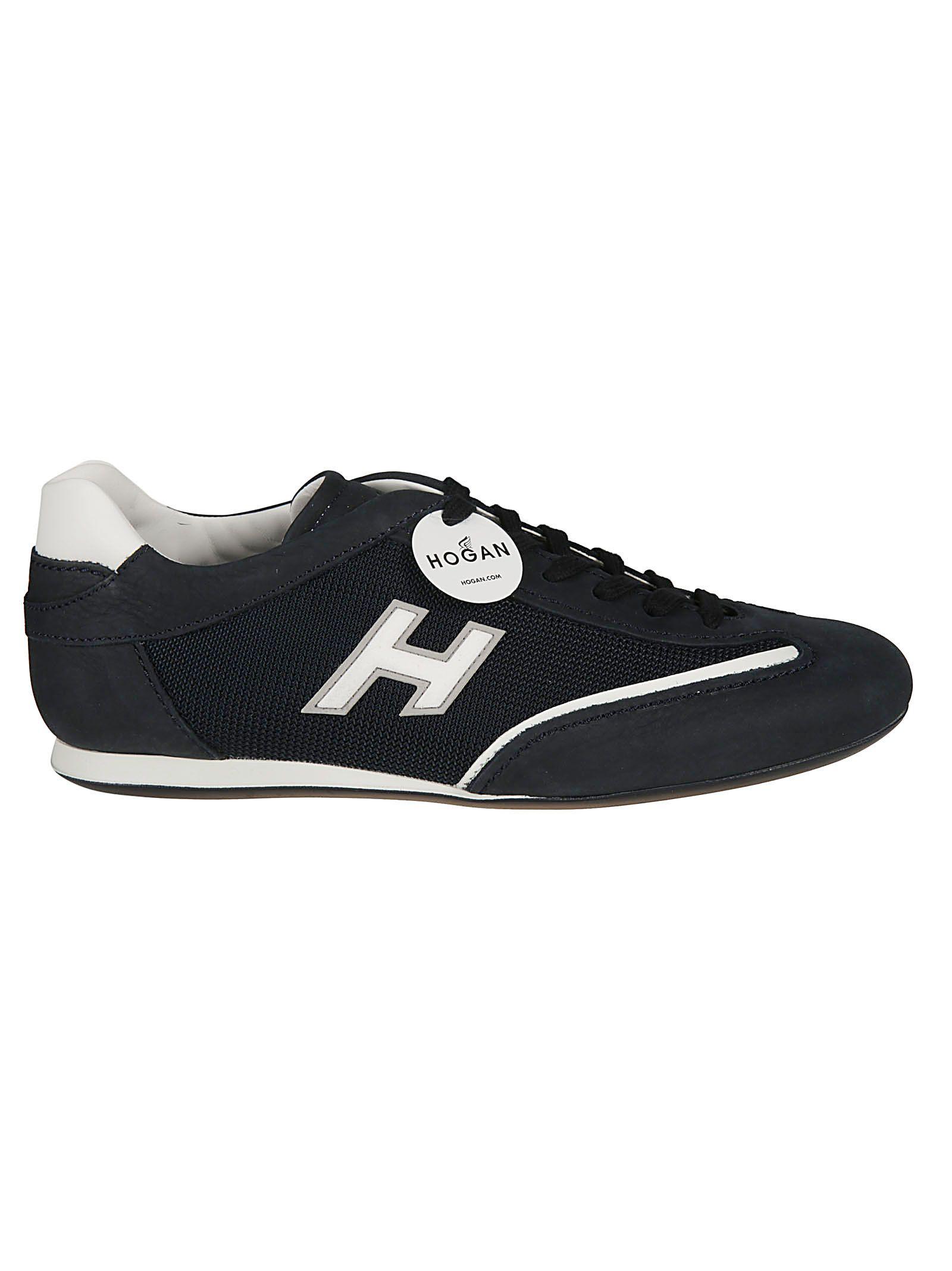 Hogan Olympia Sneakers In Z Blu/blu Denim Scuro/bianco   ModeSens