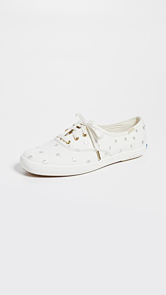098aa34ccec0 Keds X Kate Spade New York Dancing Dot Champion Sneakers In White ...