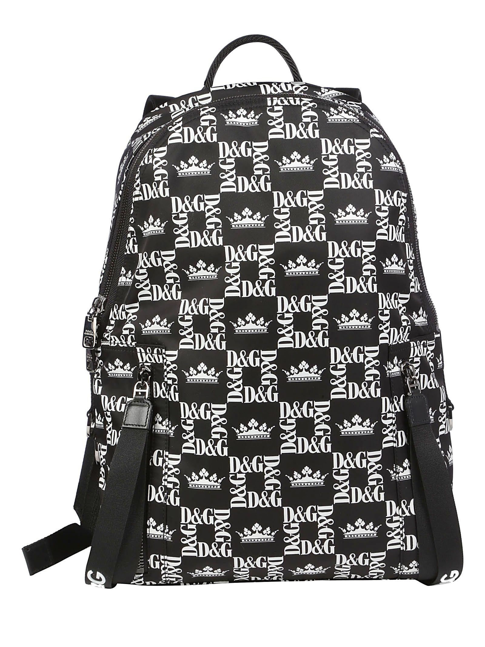 3279b0764c Dolce   Gabbana Dolce E Gabbana Backpack In Corone Fdo. Nero