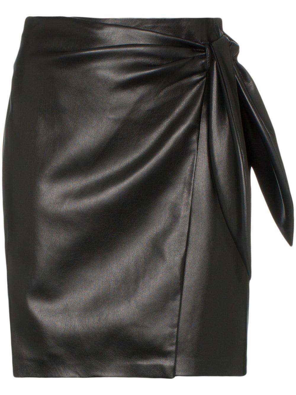 93e41c139e11 Vegan Leather Mini Skirt