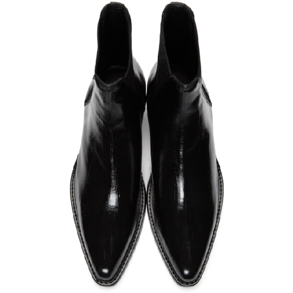 8154d0702c3 Dakota Leather Chelsea Boots in Black