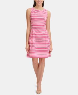 tommy hilfiger hot pink dress