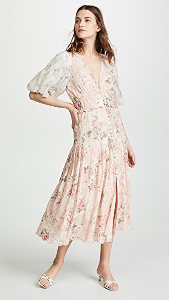 a0f0f176b3d Hemant   Nandita Long Dress In Coral