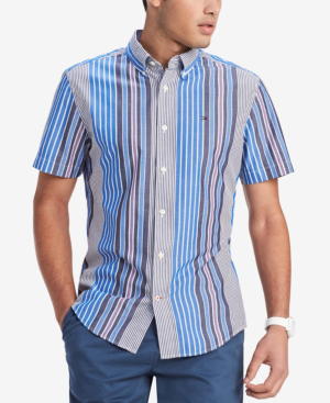657ebe7229d0 Tommy Hilfiger Men s Stripe Shirt
