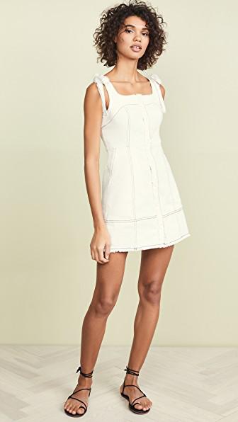 78c52c6de753 Endless Rose Moya Dress In White | ModeSens