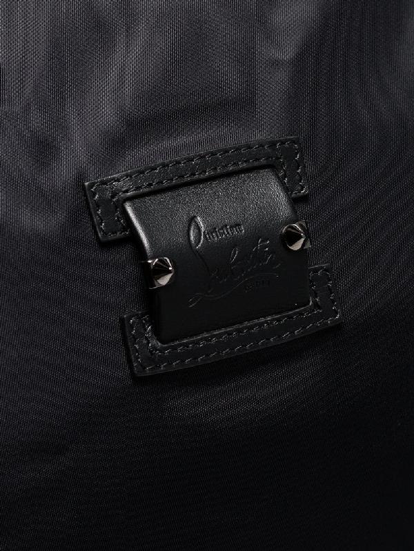 b1e323c20de0 Christian Louboutin Men s Paris Loubicity Nylon   Calf Leather Weekender Bag  ...