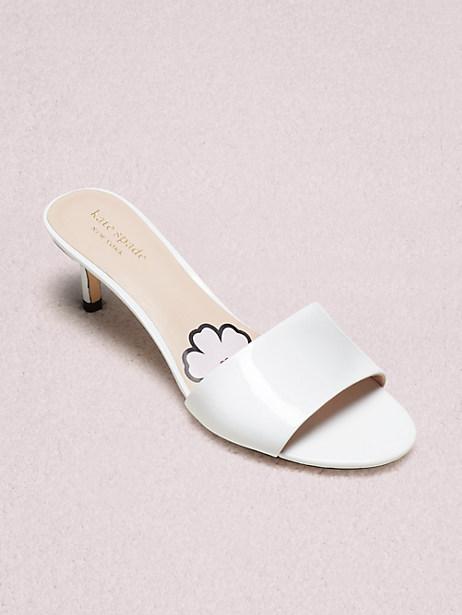 5487b3404 Kate Spade Savvi Slide Sandal In White | ModeSens