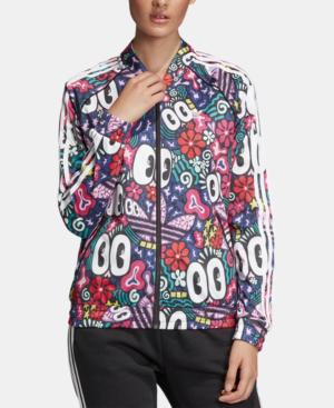f76130f7468 Adidas Originals Originals Sst Doodlebomb Print Track Jacket In Multicolor