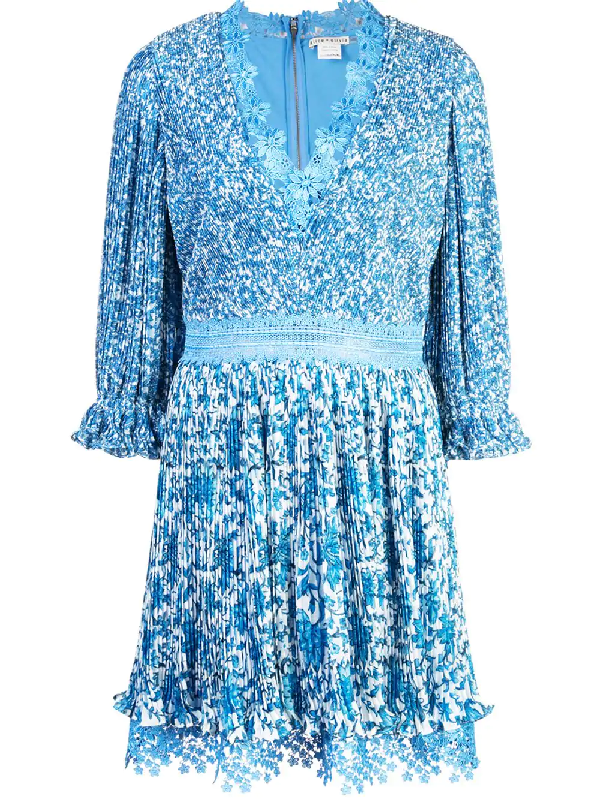 098e75bc65f7e Alice And Olivia Alice+Olivia Jonna Dress - Blue | ModeSens