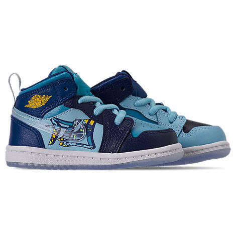 save off 7767b 67ff7 Nike Boys  Toddler Air Jordan 1 Mid Fly Casual Shoes, ...
