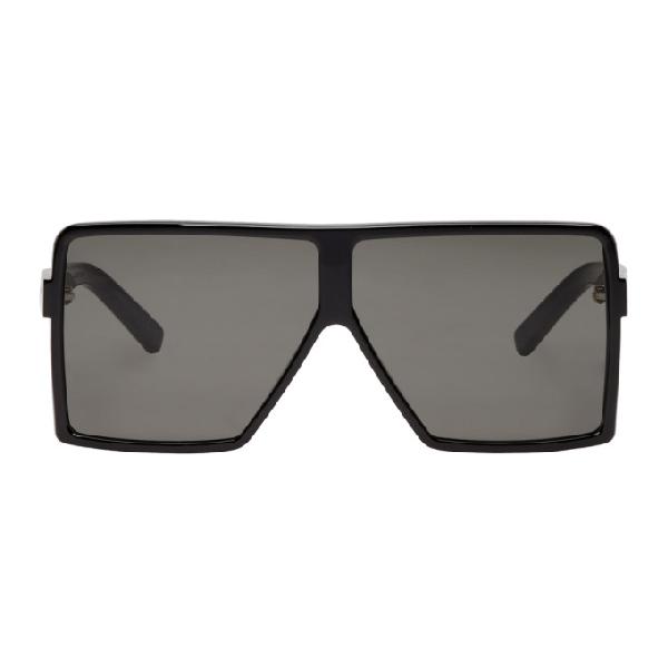 7a5c935a09bb Saint Laurent Women's Betty Oversized Square Shield Sunglasses, 68Mm ...