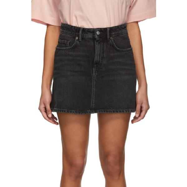 e2ad09d014 Acne Studios Black Bla Konst Denim Caitlyn Miniskirt | ModeSens