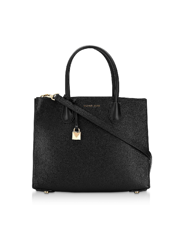 f74a05bf99f1 Michael Michael Kors Mercer Large Convertible Tote Bag In Black ...
