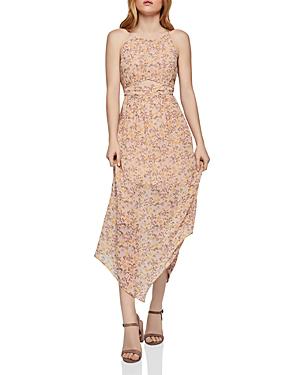 60f1a7288d0 Bcbgeneration Asymmetric Floral Maxi Dress In Rose Smoke