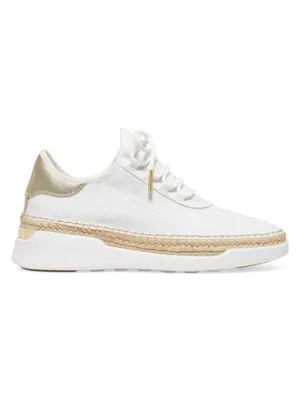 241a491dd064 Michael Michael Kors Finch Lace-Up Wedge Espadrille Sneakers In Gold ...