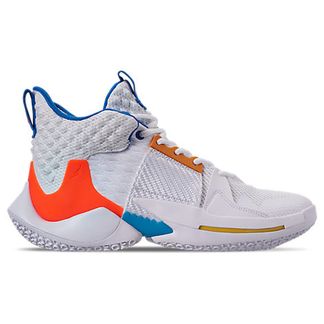 the latest caa60 327ed Nike Men s Air Jordan Why Not Zer0.2 Basketball Shoes, White