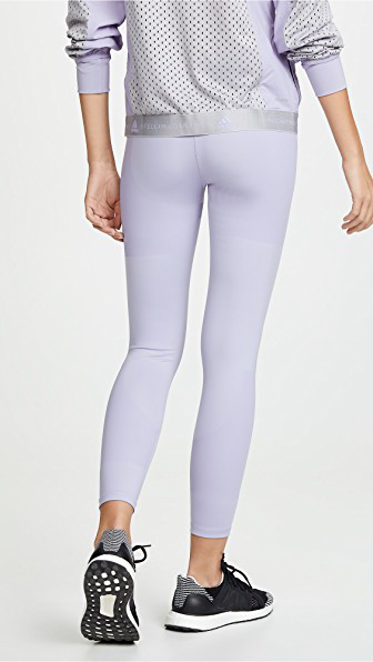 8761e84990b4f1 Adidas By Stella Mccartney Train Leggings In Iced Lavender   ModeSens