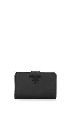 ed4d83ea7a Prada Zip-Around Leather Wallet - Black | ModeSens