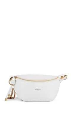 3e03aa19bd Givenchy Whip Leather Belt Bag In 100 White | ModeSens