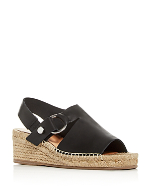 edabf0ea4db Rag   Bone Arc Leather Wedge Espadrilles In Black