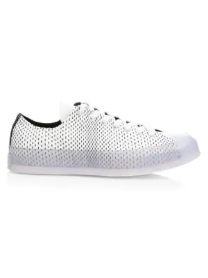 e6273c4d2ded Converse Neon Wave Chuck 70 Low-Top Jacquard Sneakers In White Black ...