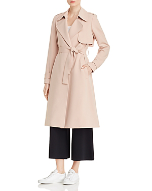 aa622c802a Theory Oaklane B Trench Coat - 100% Exclusive In Petal Pink | ModeSens