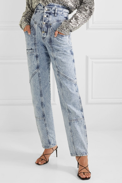 77e6dccef4c Isabel Marant Roger Boyfriend Jeans In Light Denim